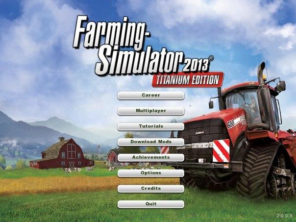 Диск Farming Simulator 2013